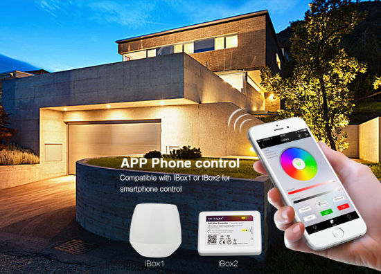 20W WiFi Controlled Smart RGB+CCT LED Floodlight (FUTT04) pictures & photos