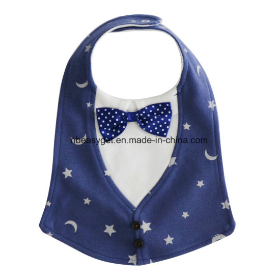 a0ef9df06 Aby Toddler Infant Boys Girls Drool Drooling Bibs Bowtie Tuxedo Bow Neck  Tie Burp Cloths Unisex