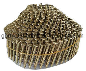 Q195/Q235 Pallet Nails Roofing Nails Coil Nails - Galv. Conical pictures & photos