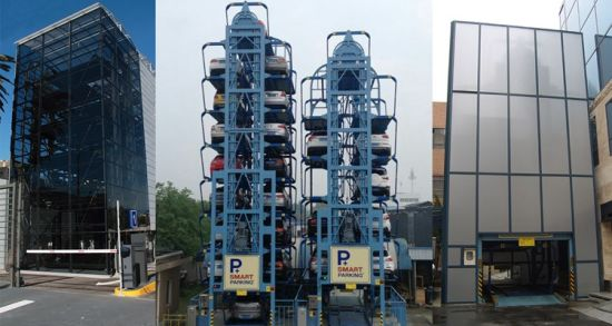 Vertical Circulation Type Parking Equipment (PCX)