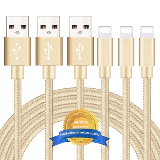 3FT USB Charging Data Cable for iPhone Type-C Micro USB Cable