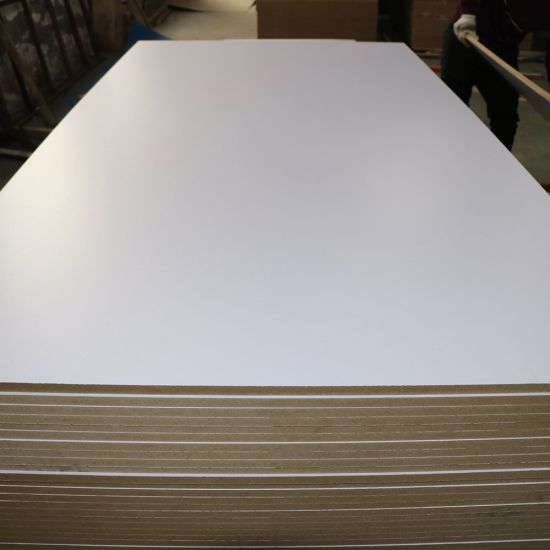 China 16mm White Melamine Ply Board for Cabinets - China