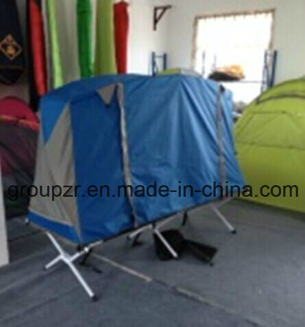 Double Layer off The Ground Ice Fishing Camping Tent Bed for 1 Person pictures & photos