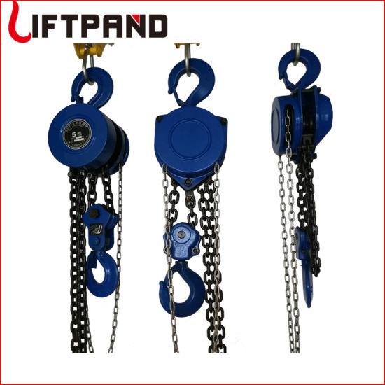 Triangle Round Cheap Hand Chain Hoist Portable Overhead Crane