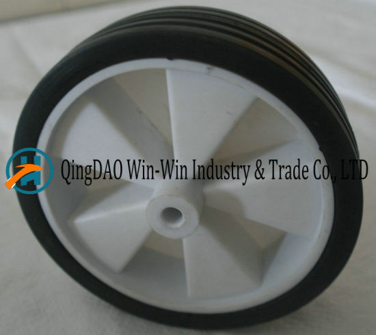6*1.5 Black Solid Rubber Wheel for Trolleys and Barrows pictures & photos