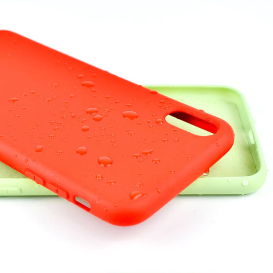 Mobile Accessories New Liquid Silione TPU Phone Case for iPhone Cell Phone Case
