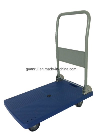 Heavy Duty Cheap Price Portable Collapsible Plastic Platform Hand Truck