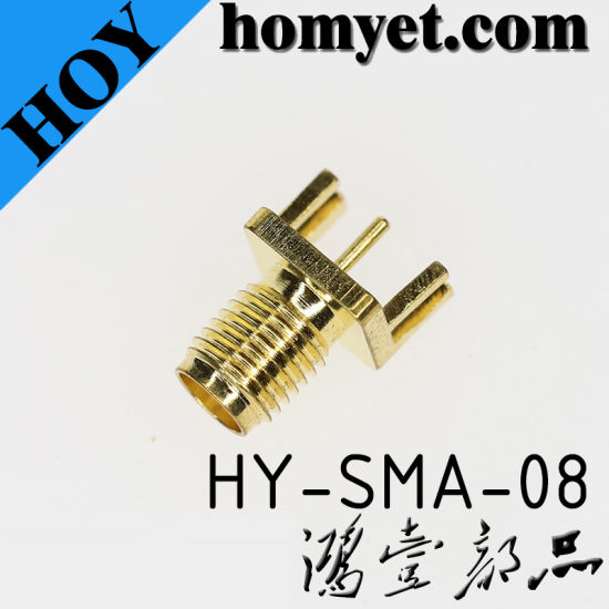 High Quality SMA Connector Female Straight PCB Mount SMA Connector pictures & photos