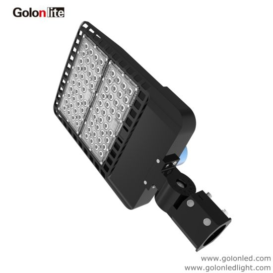 Meanwell Driver Lumileds SMD 3030 130lm/W 150W LED Shoebox Light Fixture