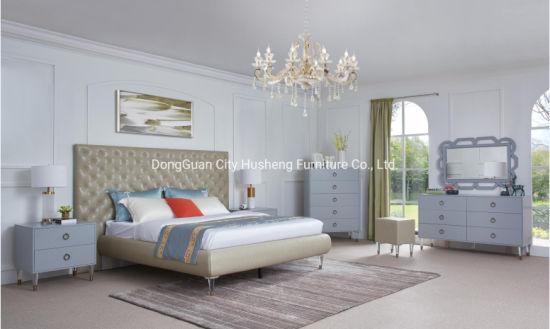 China Latest Modern Design King Size Hotel Bedroom Furniture Sets For Sale China King Size Bed Modern Furniture