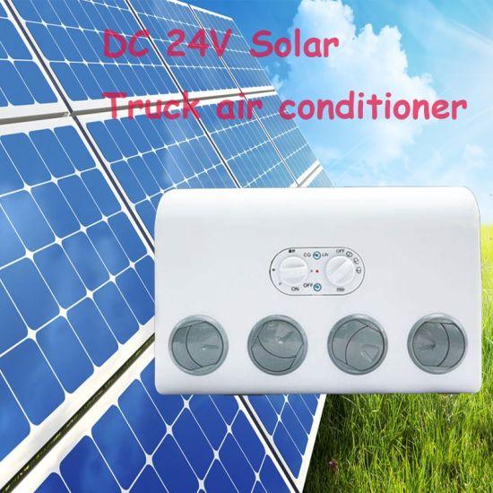 12 Volt Solar Air Conditioner for Truck/Tractors/Car/Motorhome