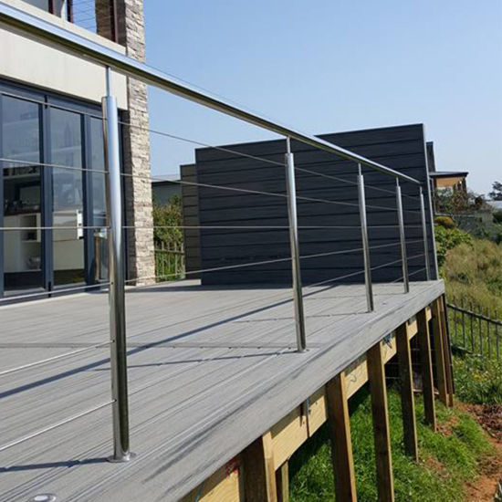 Modern Stainless Steel Balcony Grill