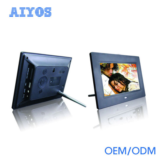 China 7 Inch Advertising Digital Photo Frame with High Resolution ...
