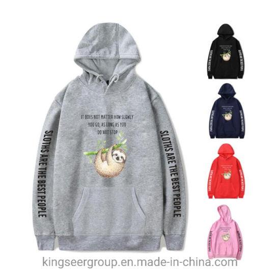 Cotton Pullover Men Custom/Customized Designer Logo/Label/Brand Oversized Bulk Wholesale Hoody