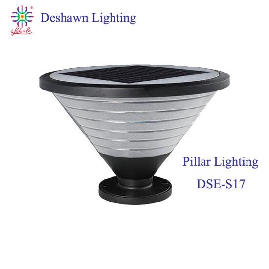 LED Garden Lighting Solar Lighting Coarse Grained Horn Outdoor Pillar Light