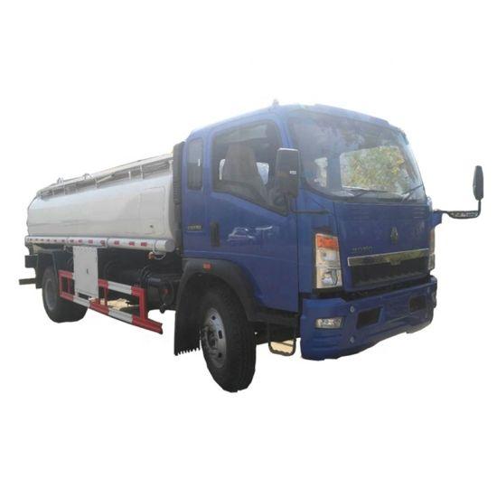 HOWO Light Hand Drive 4X2 HOWO 116HP Rhd/LHD Fuel Tank Truck