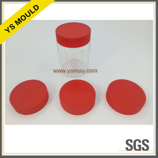Plastic Food Packing Can with Lid Mould pictures & photos
