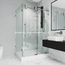 6mm 8mm Clear Tempered Toughened Safety Glass for Door Shower Enclosure Partition
