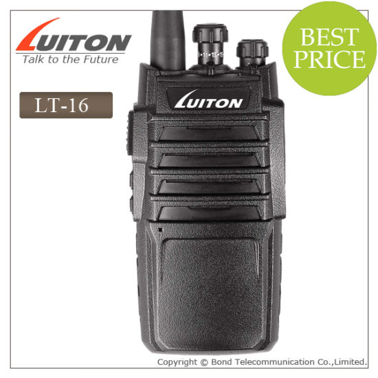 Professional Radio Lt-16 Walkie Talkie pictures & photos