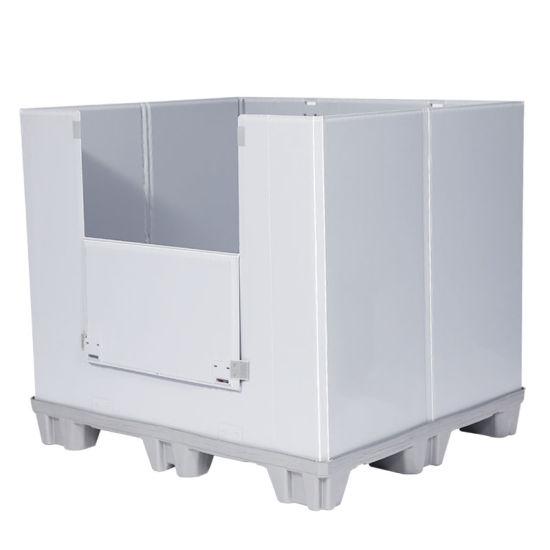 Dunnage Polypropylene Hollow Sheet PP Sheet Customized Plastic Pallet Box