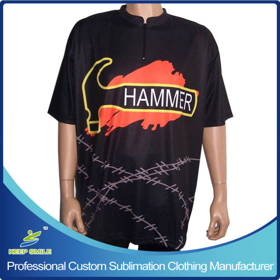 Custom Made Sublimation Bowling Sportswear for Bowling Jersey