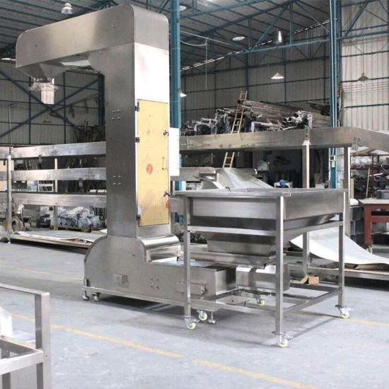 Food Grade Grain Z Shape Bucket Elevator Conveyor Manufacturer