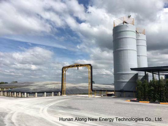 China 1MW Biogas Plant in Thailand - China HDPE Lagoon