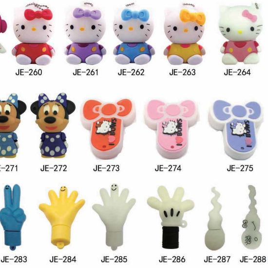 Fancy Soft PVC Material Creative Monster Shaped USB Stick Animal USB Flash 4GB 16GB 32GB pictures & photos