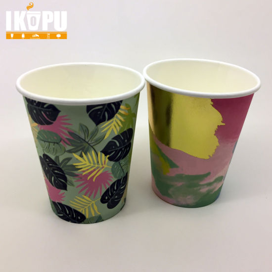 Single Wall Paper Cup for Hot Beverage and Advertising pictures & photos