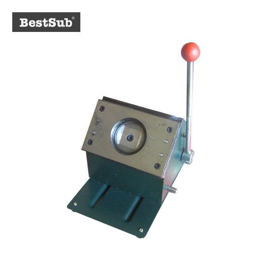 Bestsub 75mm Round Piece Cutting Badge Machine (QT75)