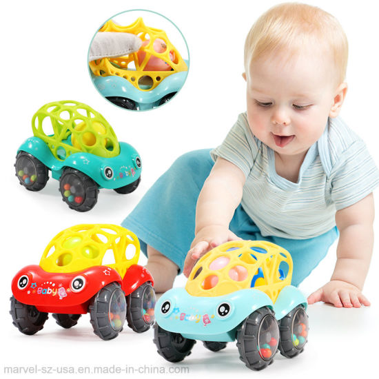 Best Gift Puzzel Soft Silica Toy Car Baby Toy pictures & photos