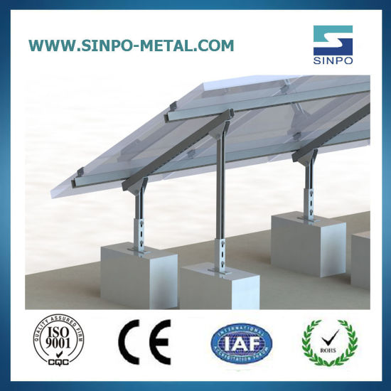 Manufacturer Customize Home Solar Power Mounting Support PV Brackets for Ground Solar Energy System Panel Products