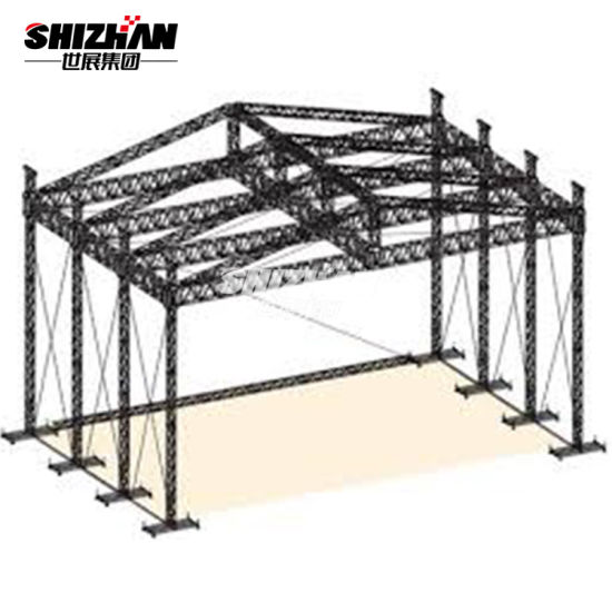 China Light Weight Aluminum Steel Space Frame Trusses Structure ...