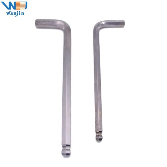 Ball Head Long Arm Hex Key Wrench Allen Key, L Handle Hex Wrench