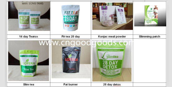 China Lofera Slim Tea For Detox And Weight Loss Hot Sale In Africa