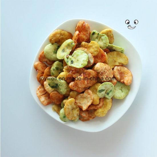 Good Taste Mixed Broad Bean/Fava Beans Healthy Crispy Colorful Natural Snacks