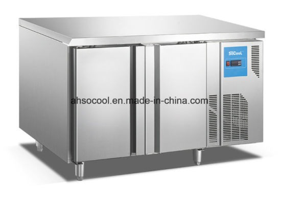 Ordinaire Refrigeration Equipment Commercial Stainless Steel Double Door Under  Counter Refrigerator