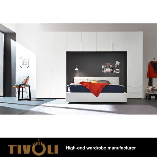 China Murphy Bed for Space Saving Wooden Color Wall Hang Hidden Bed ...