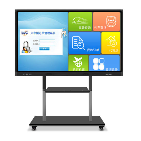 """86"""" LED Inches Multitouch All in One Smartboard for Conference"""