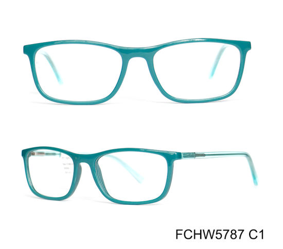 Injection Acetate Material Frame Eyeglass Hand Made Frame of Men pictures & photos
