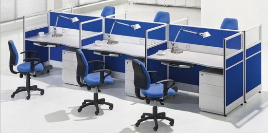 Inexpensive Modern Office Cubicles Modular 8 Seats Workstation Sz Ws689