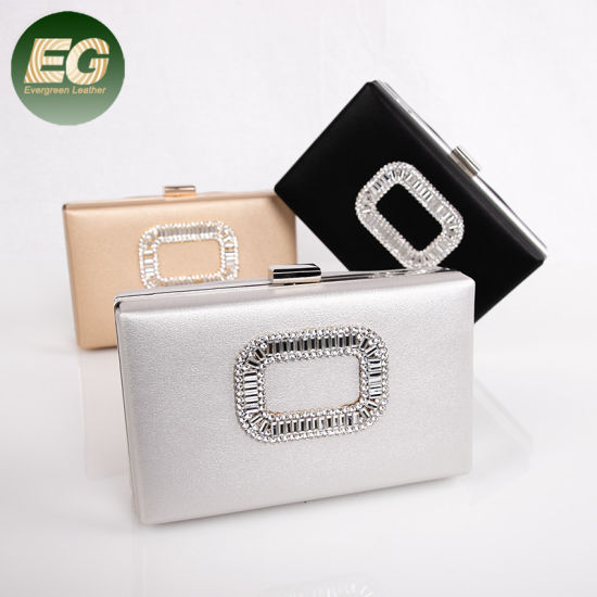 3eafbcc6c9 Trendy Latest Designer Lady Diamond Evening Clutch Bag Wholesale Eb960  pictures & photos