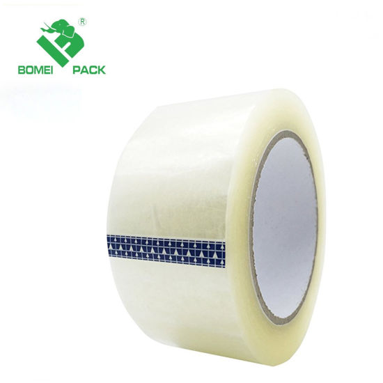Clear Cheapbranded Box Sealing Shipping OPP Packing Tape