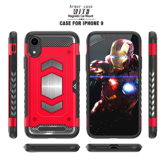 the best attitude 6e1ed 4a43c China Shockproof Magnet Car Holder Credit Card Mobile Phone Case for ...
