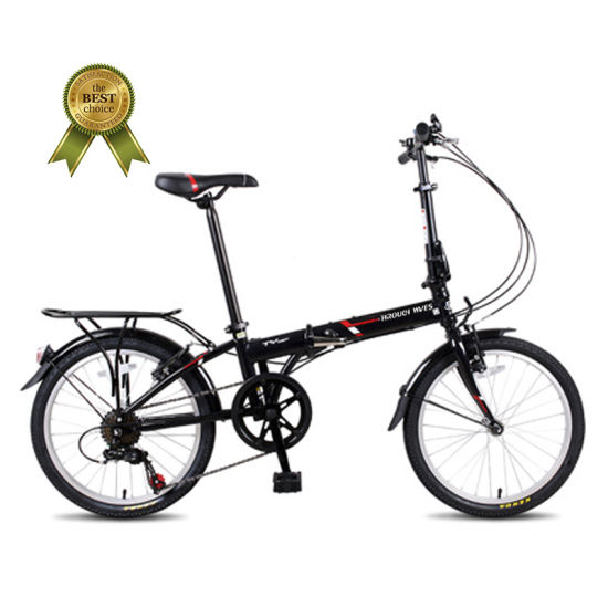 Aluminium Alloy Folding Bicycle, Model Fpa073, 20 Inch 7speed Foldable Bike Made in China