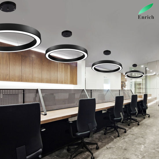 office chandelier lighting. Chandelier Lighting Round Circular Hanging Light Interior LED Office  Office Chandelier Lighting L