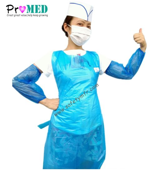 Food Service Disposable Plastic Cooking Apron
