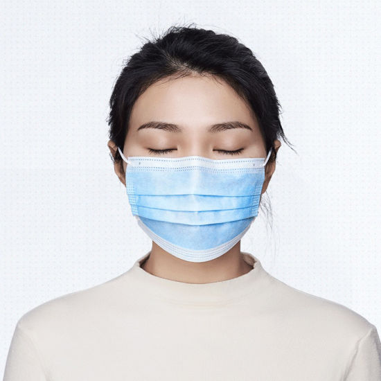 Hot Selling and Repeat Order Lowest Price Best Quality Non Woven Anti Virus Dustproof Earloop Disposable Face Mask 3ply