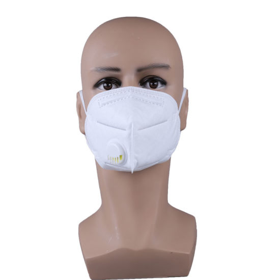 Respirator Winter Elastic Nose Operation Manufacturer Branding Black Mask KN95 FFP2