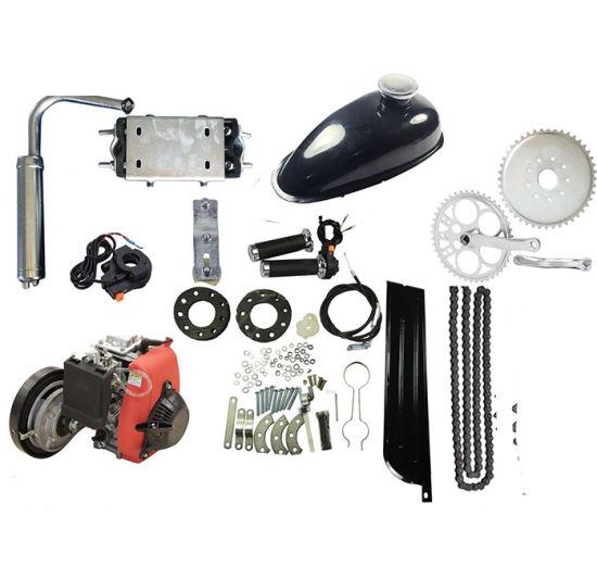 49cc Bicycle Engine Kits 4-Stroke Gas Petrol Motorized Bicycle Bike Engine Motor Kit Scooter Engine